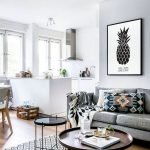 30 Awesome Small Apartment Design And Decor Ideas With Farmhouse Styles (16)