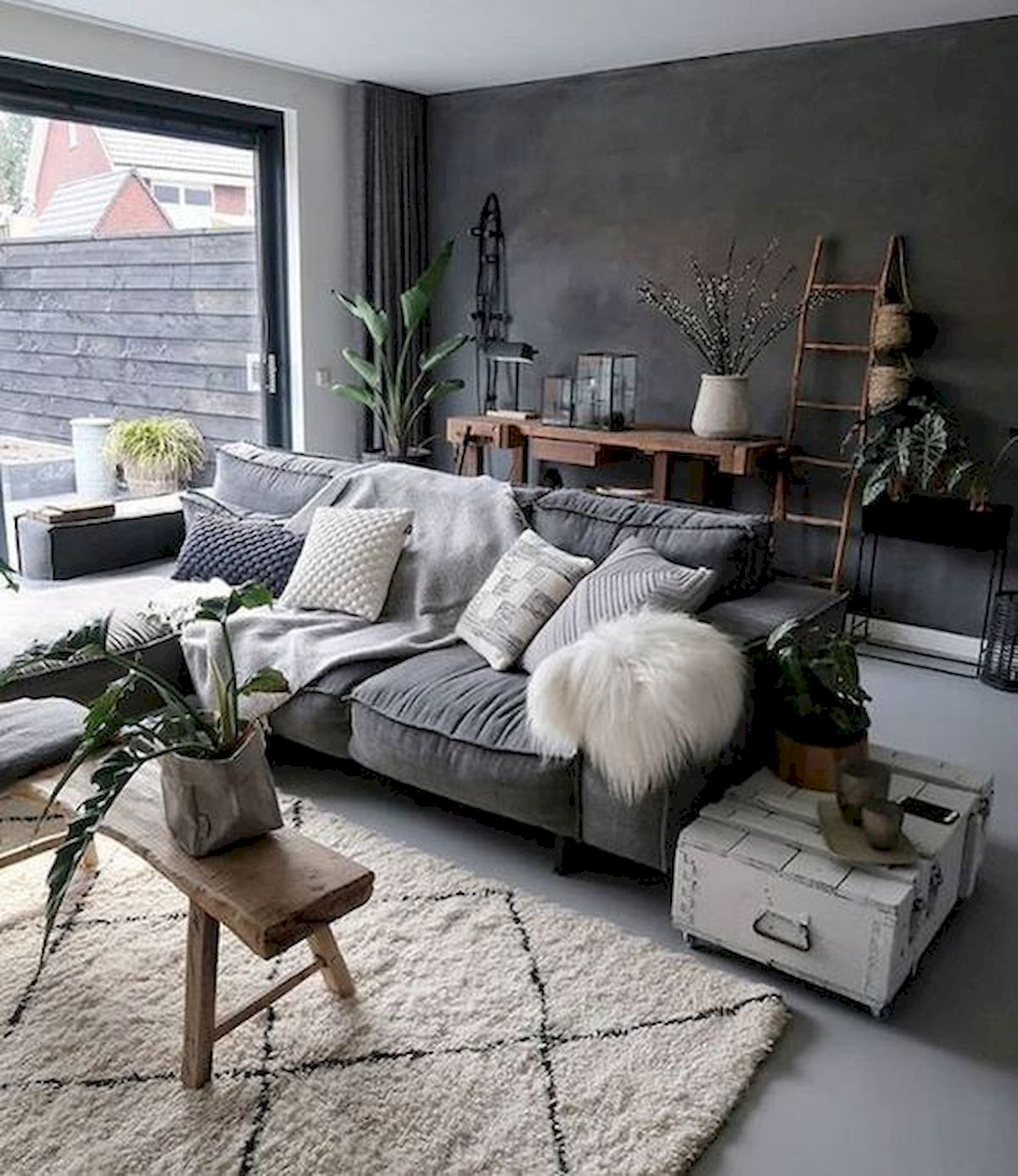 30 Awesome Small Apartment Design and Decor Ideas With Farmhouse Styles (18)