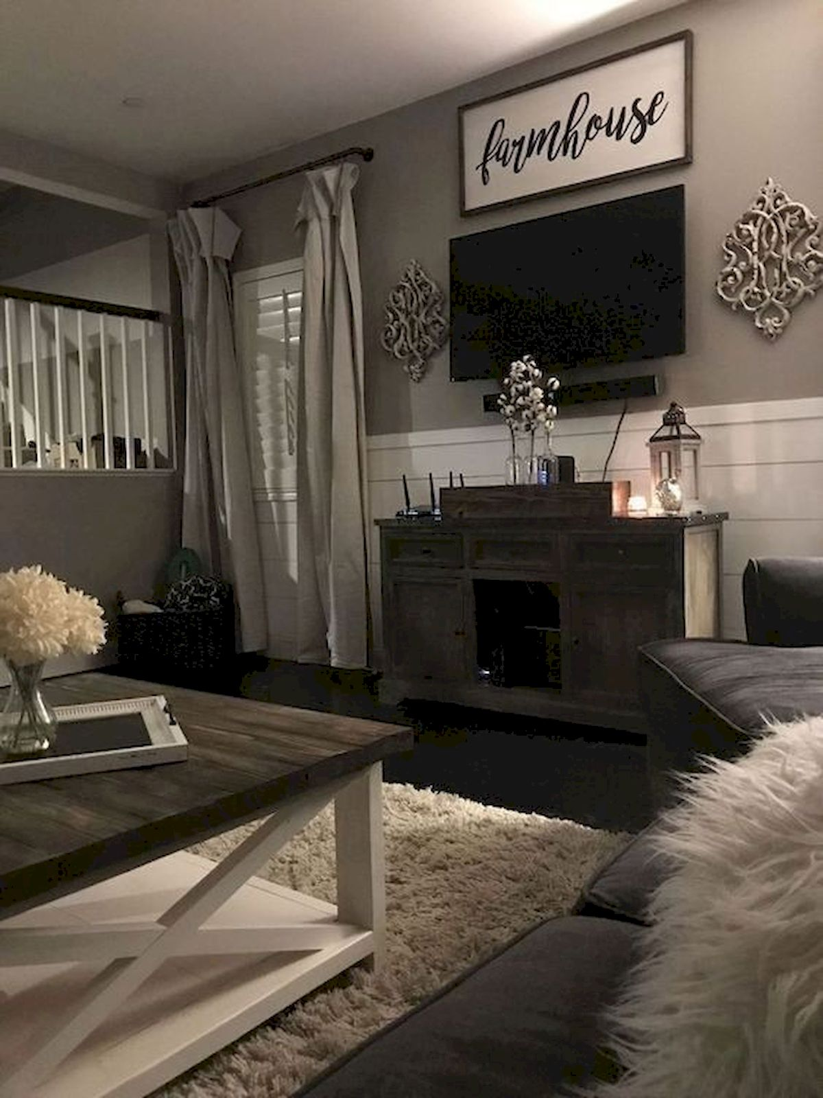 30 Awesome Small Apartment Design and Decor Ideas With Farmhouse Styles (20)