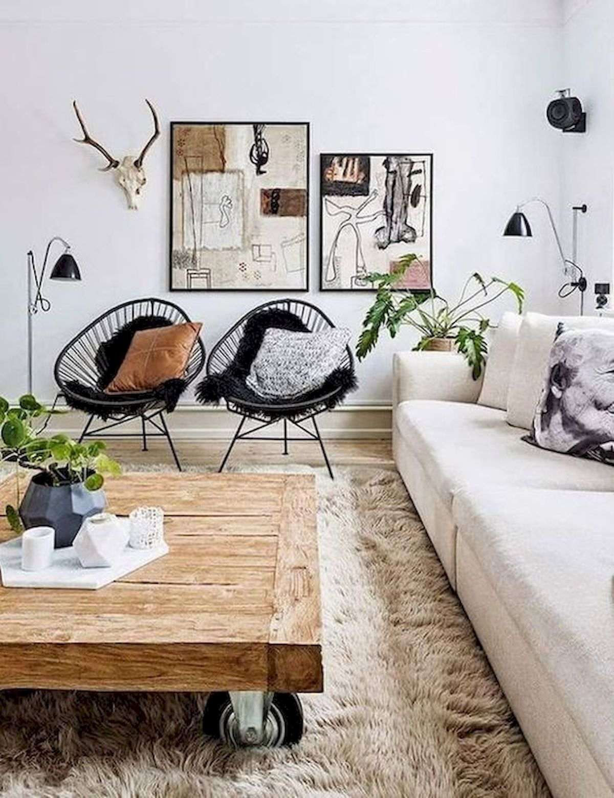 30 Awesome Small Apartment Design and Decor Ideas With Farmhouse Styles (22)