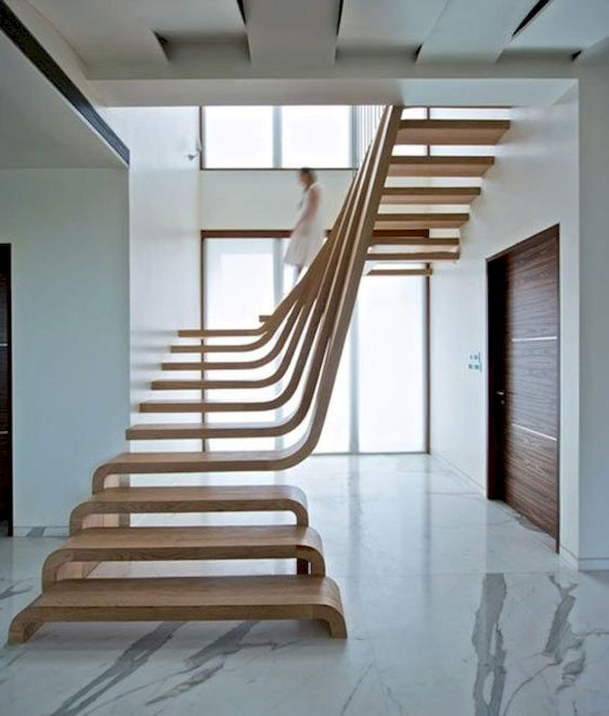 30 Awesome Wooden Stairs Design Ideas For Your Home (15