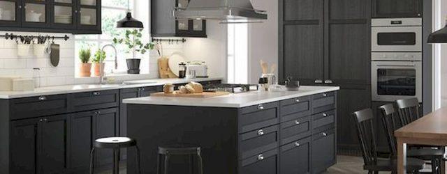 30 Stunning Black Kitchen Ideas You Will Love (1)