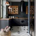 30 Stunning Black Kitchen Ideas You Will Love (13)