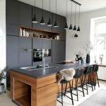 30 Stunning Black Kitchen Ideas You Will Love (16)