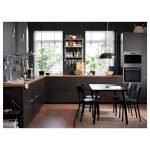 30 Stunning Black Kitchen Ideas You Will Love (19)