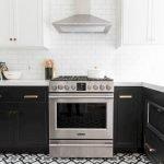 30 Stunning Black Kitchen Ideas You Will Love (20)
