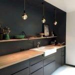 30 Stunning Black Kitchen Ideas You Will Love (28)