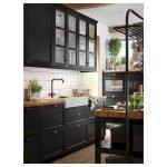 30 Stunning Black Kitchen Ideas You Will Love (4)
