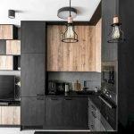 30 Stunning Black Kitchen Ideas You Will Love (8)