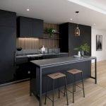 30 Stunning Black Kitchen Ideas You Will Love (9)