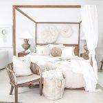 40 Amazing Farmhouse Boho Bedroom Design And Decor Ideas (18)