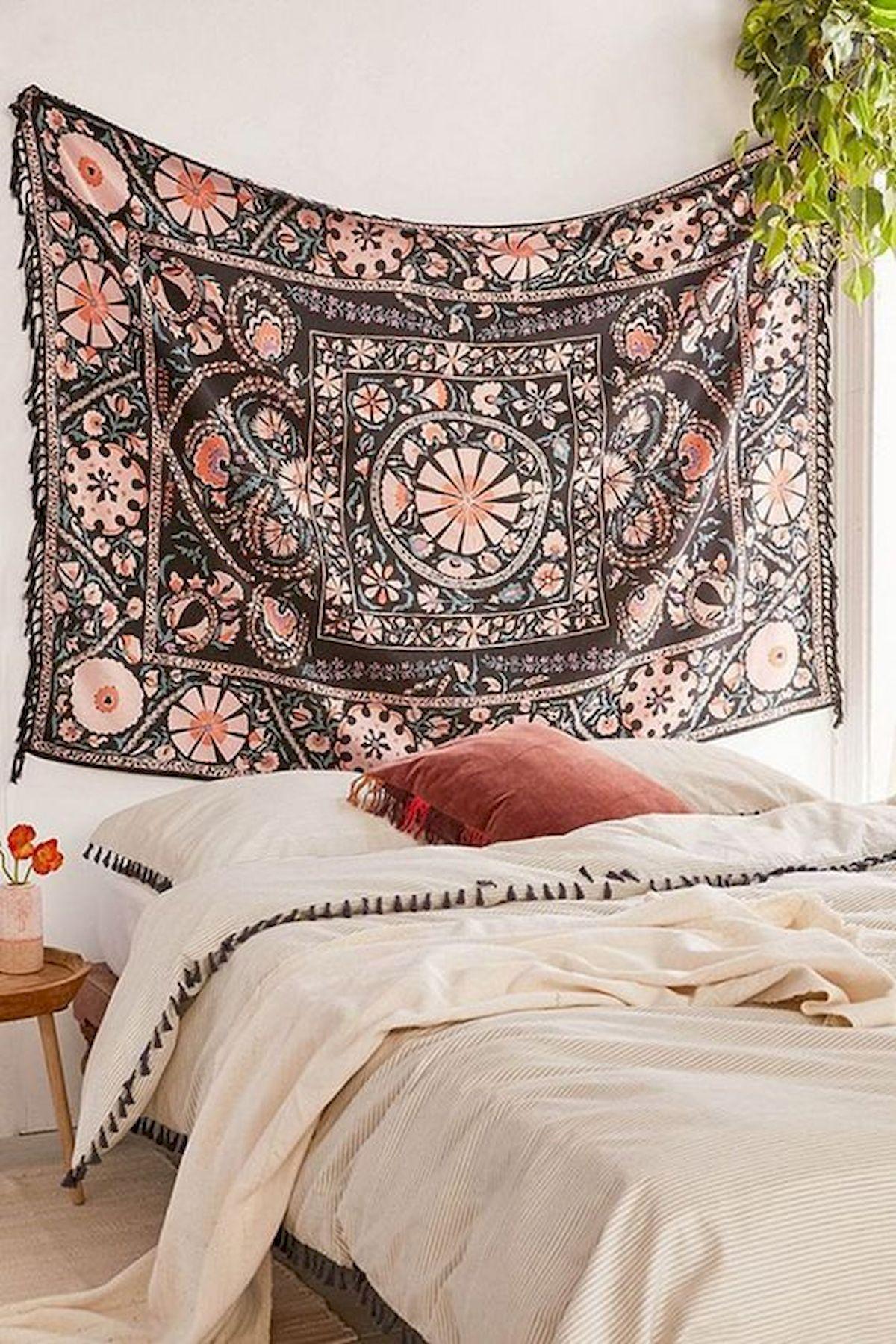 40 Amazing Farmhouse Boho Bedroom Design And Decor Ideas (2)