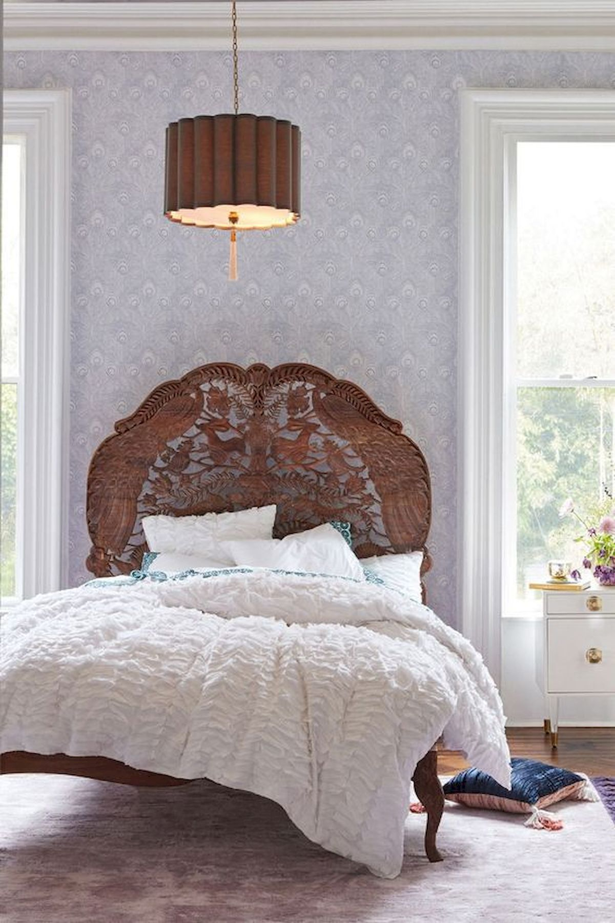 40 Amazing Farmhouse Boho Bedroom Design And Decor Ideas (23)