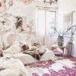 40 Amazing Farmhouse Boho Bedroom Design And Decor Ideas (34)