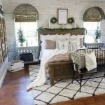 40 Amazing Farmhouse Boho Bedroom Design And Decor Ideas (36)
