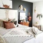 40 Amazing Farmhouse Boho Bedroom Design And Decor Ideas (39)