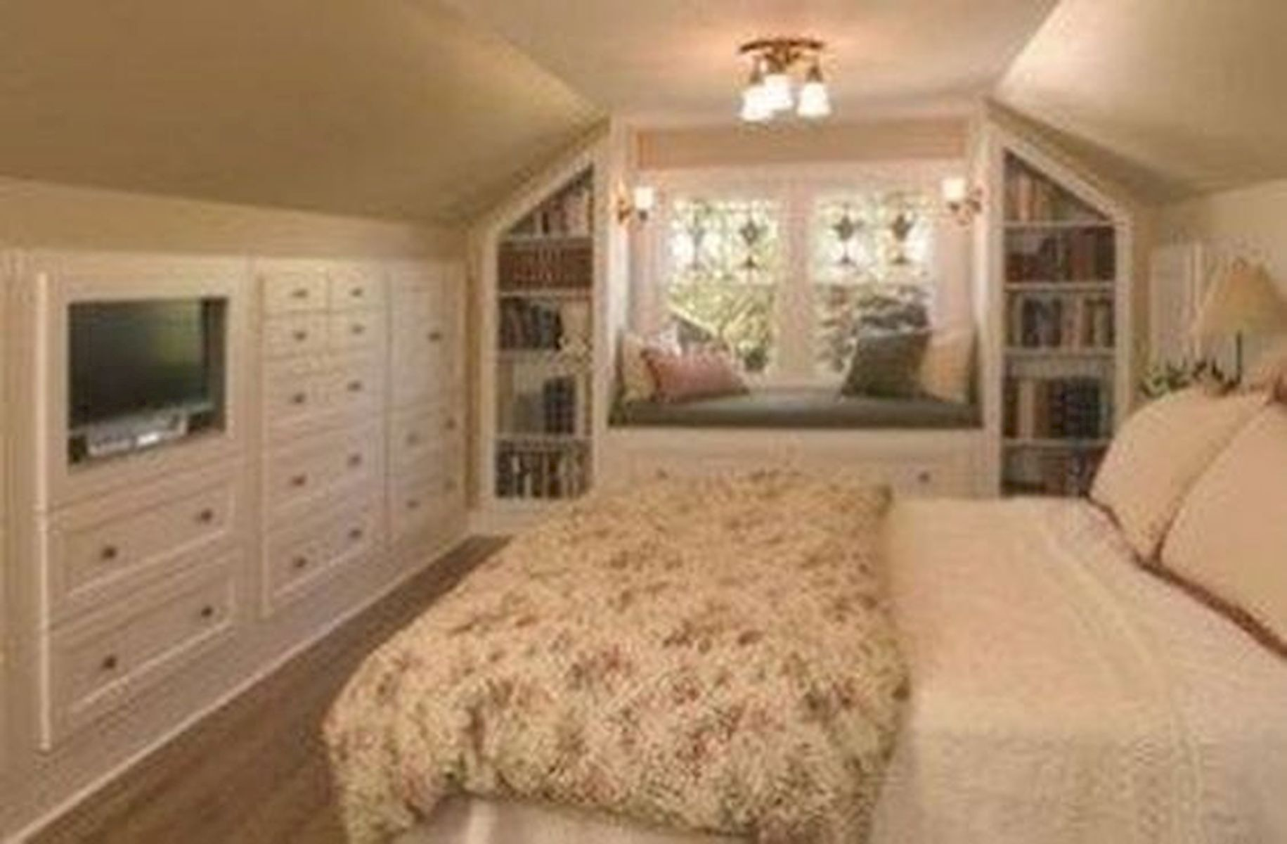 40 Awesome Attic Bedroom Design and Decorating Ideas (24)