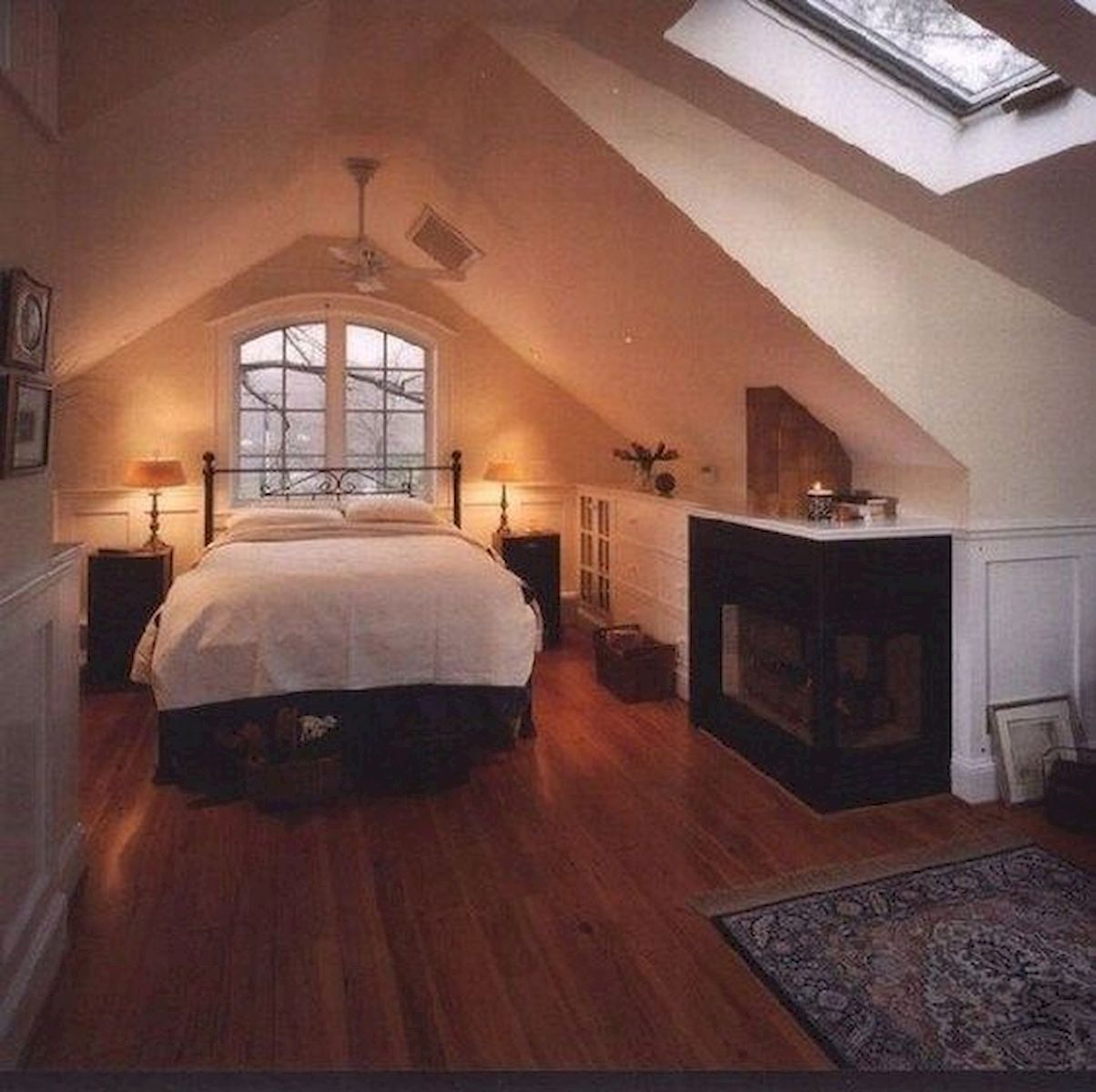 40 Awesome Attic Bedroom Design and Decorating Ideas (3)