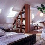 40 Awesome Attic Bedroom Design and Decorating Ideas (35)