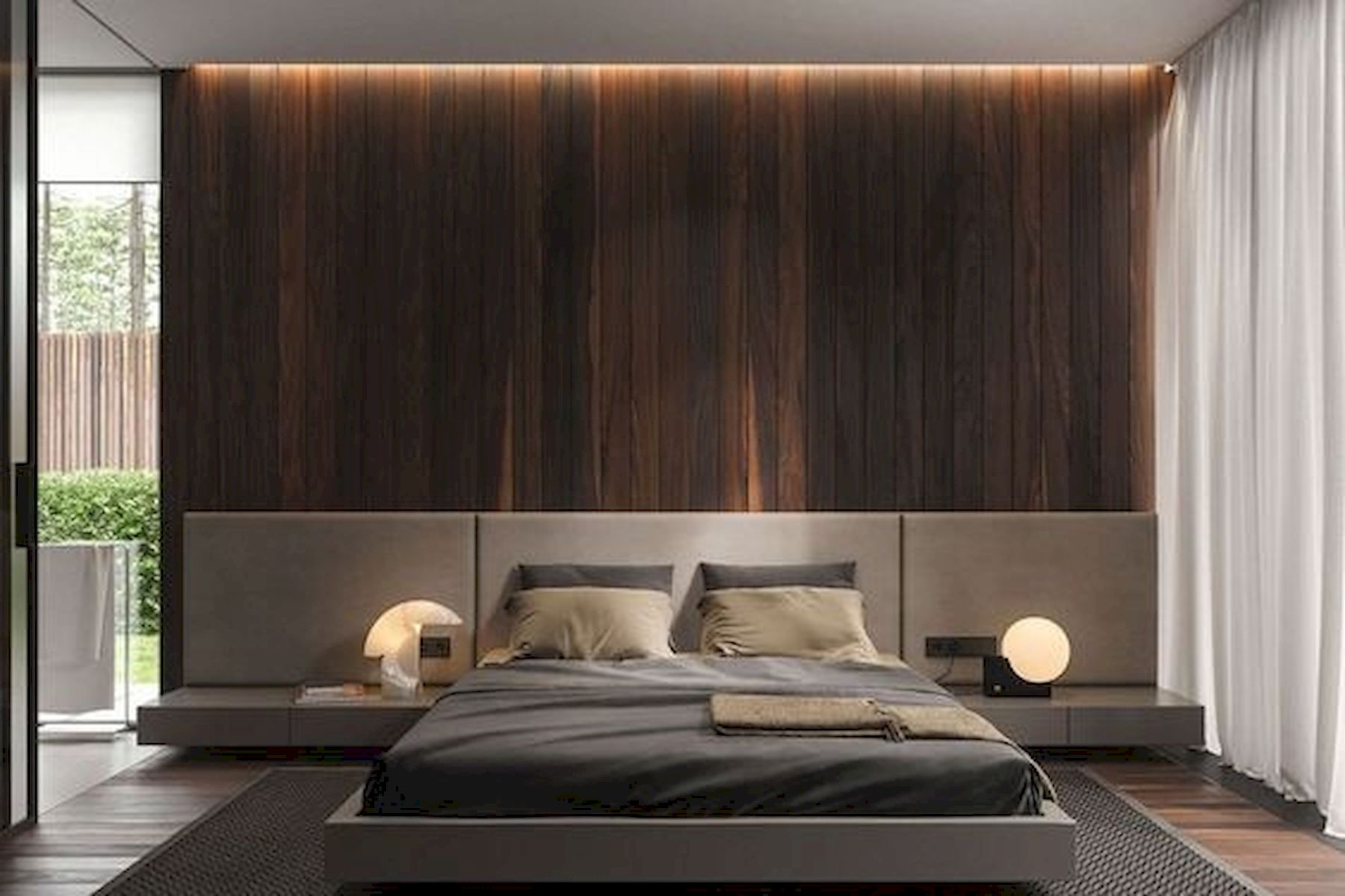40 Incredible Modern Bedroom Design Ideas That Will Be Relax Place (17)