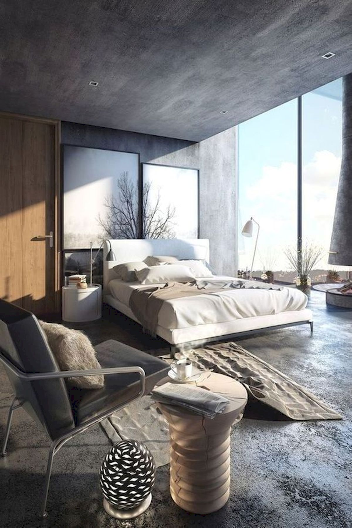40 Incredible Modern Bedroom Design Ideas That Will Be Relax Place (19)