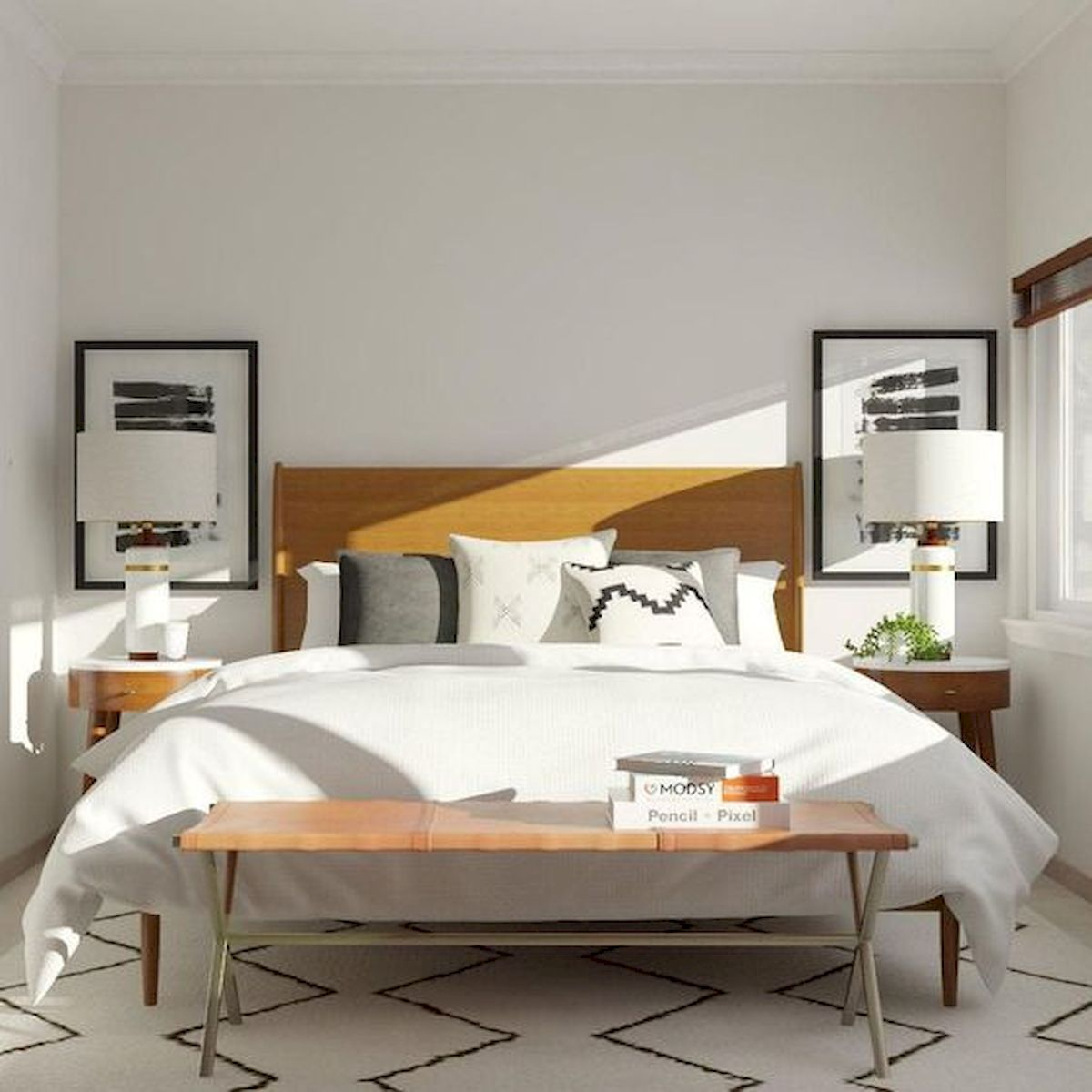 40 Incredible Modern Bedroom Design Ideas That Will Be Relax Place (26)