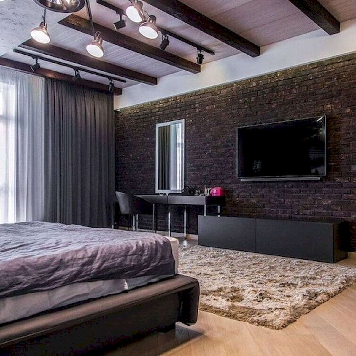 40 Incredible Modern Bedroom Design Ideas That Will Be Relax Place (37)