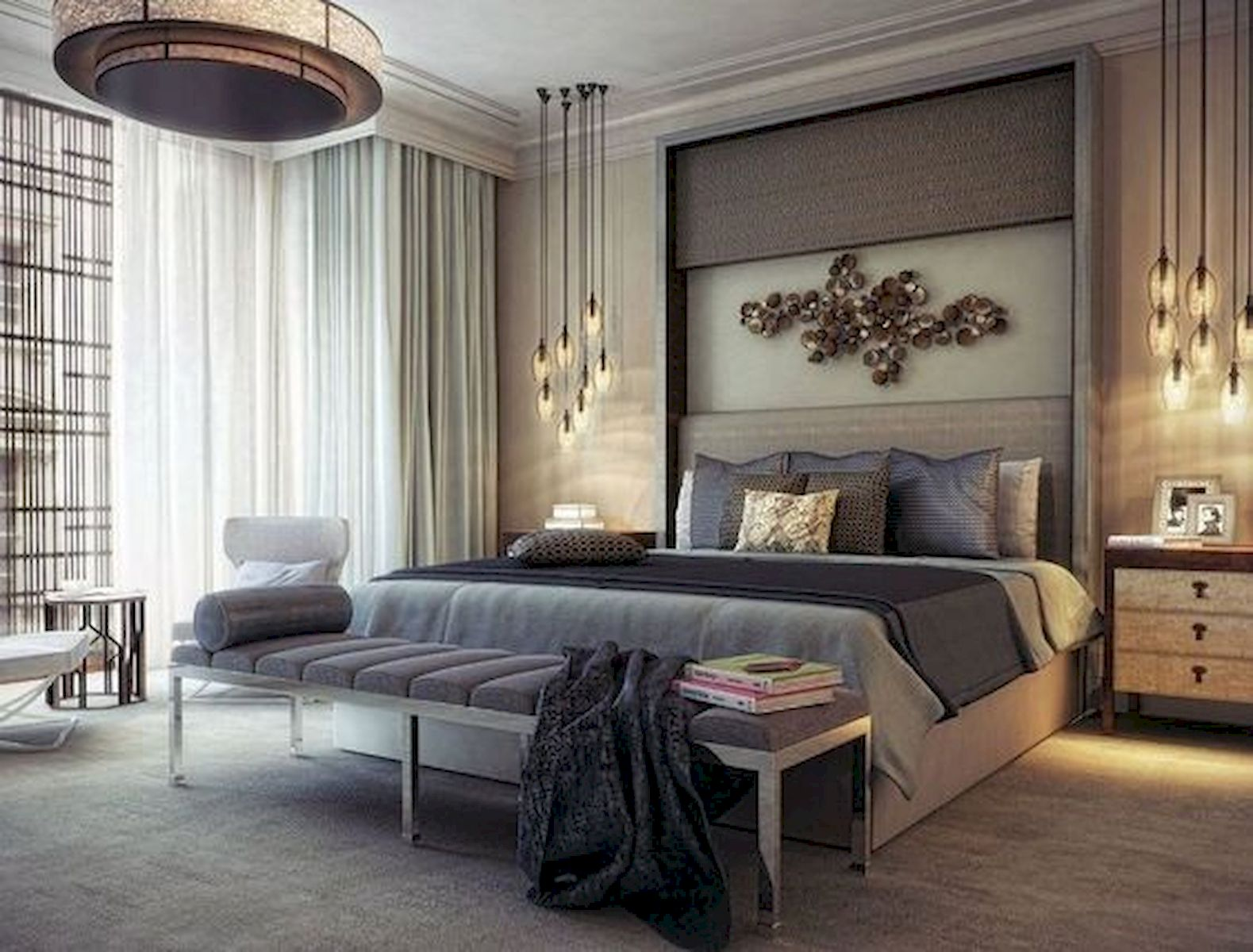 40 Incredible Modern Bedroom Design Ideas That Will Be Relax Place (39)
