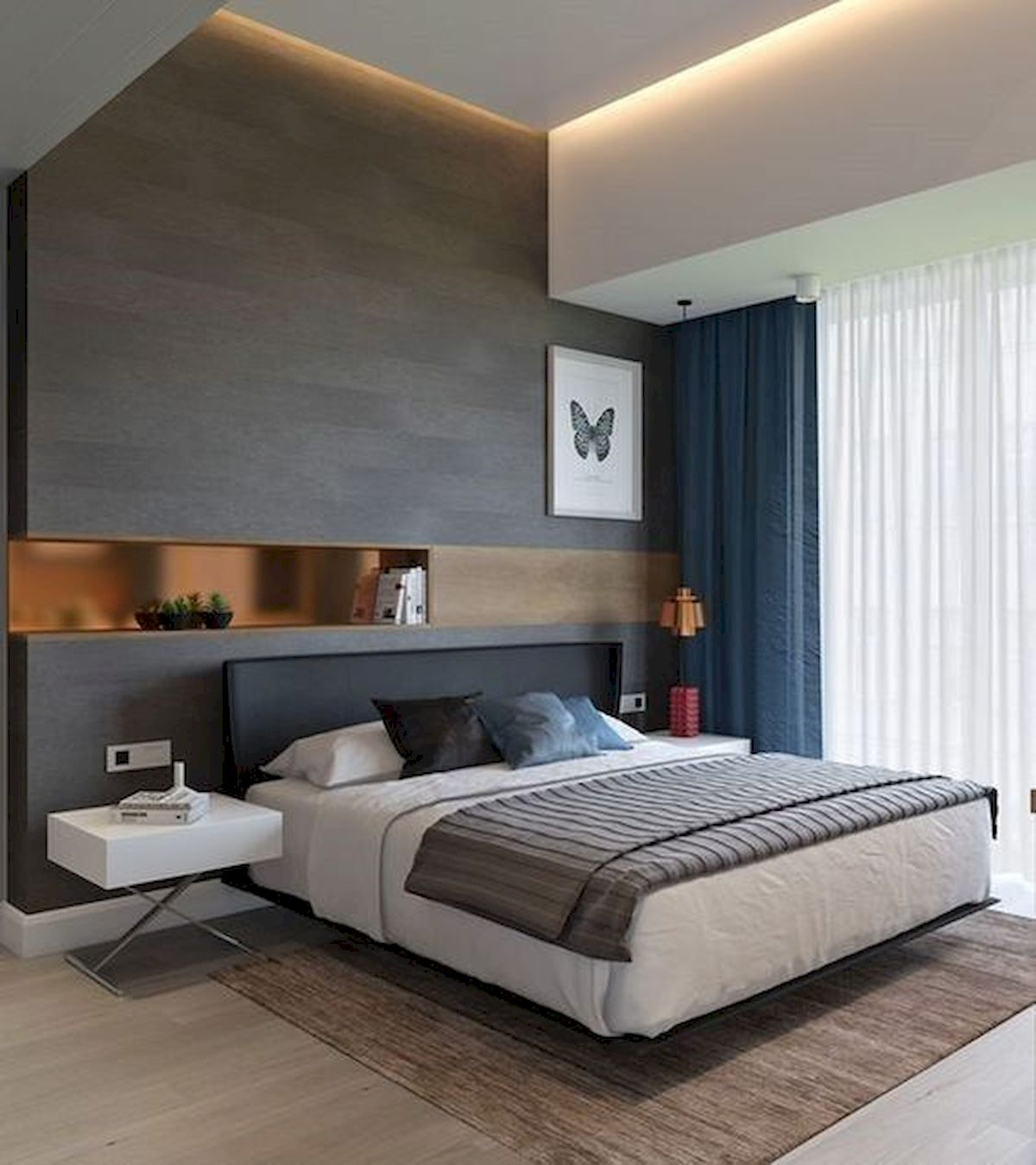 40 Incredible Modern Bedroom Design Ideas That Will Be Relax Place (9)