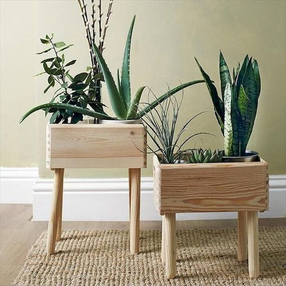 45 Awesome Furniture Ideas for Small House With Wood Project Ideas (1)