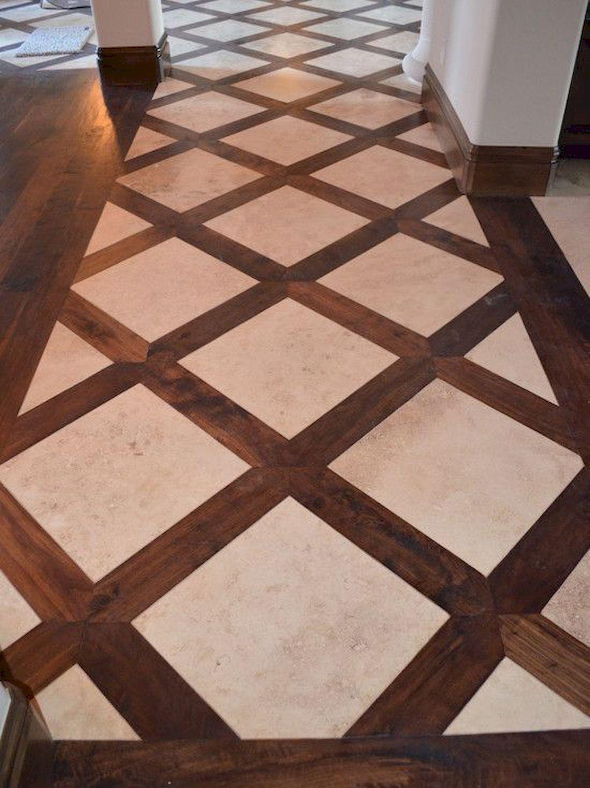 40 Best Tile Flooring Designs Ideas For Modern Kitchen (10)