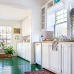 40 Best Tile Flooring Designs Ideas For Modern Kitchen (11)