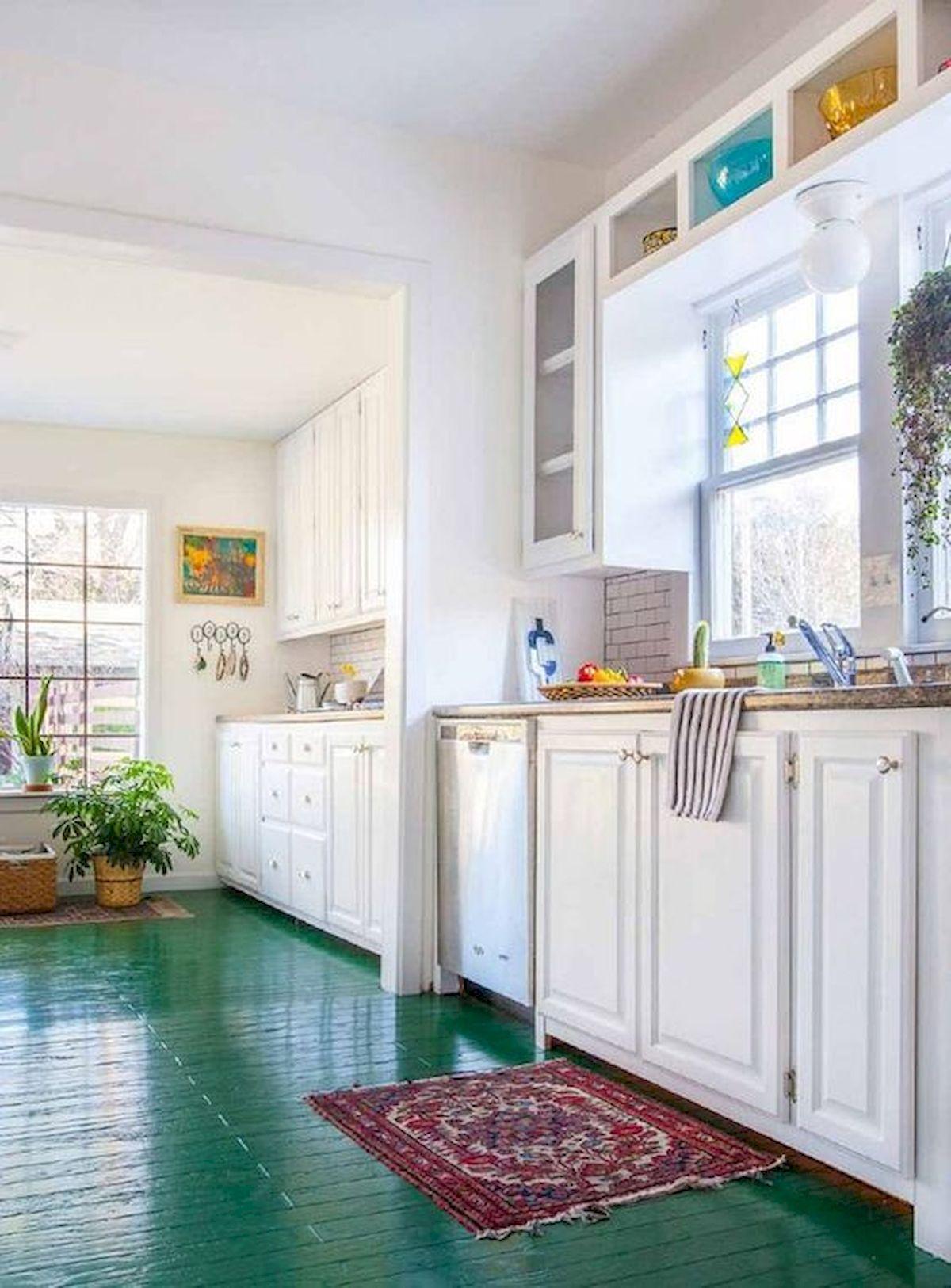 40 Best Tile Flooring Designs Ideas For Modern Kitchen (11)