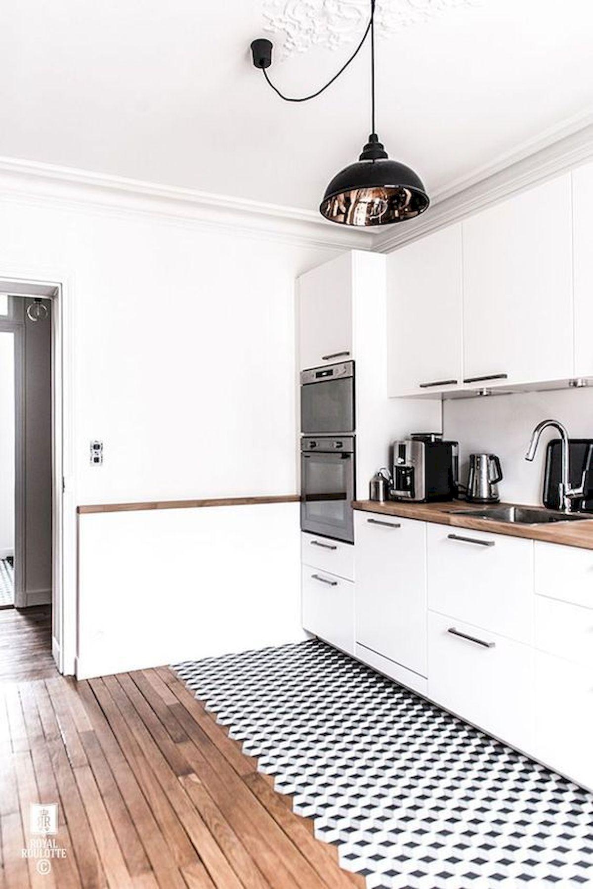 40 Best Tile Flooring Designs Ideas For Modern Kitchen (13)