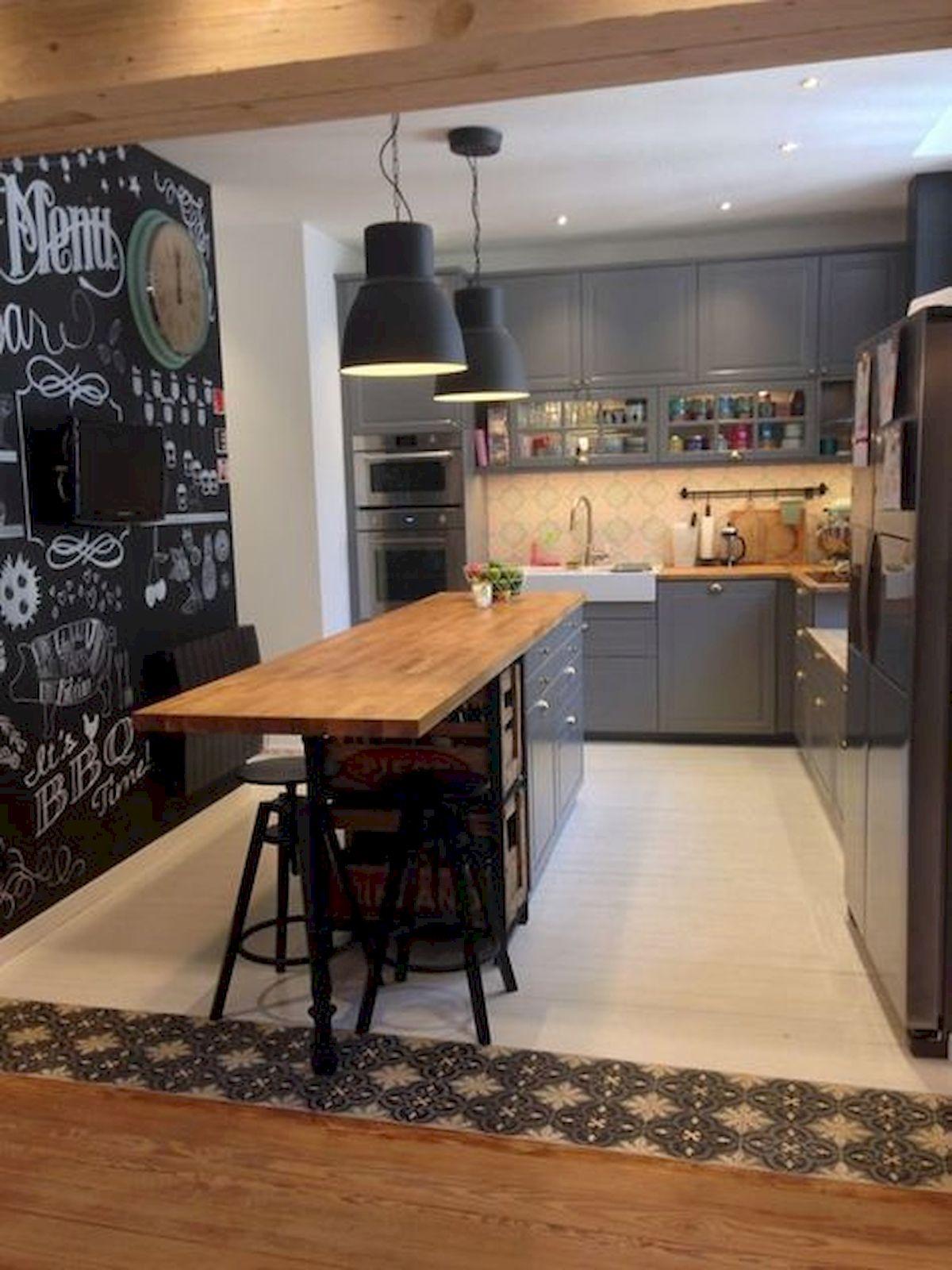 40 Best Tile Flooring Designs Ideas For Modern Kitchen (17)