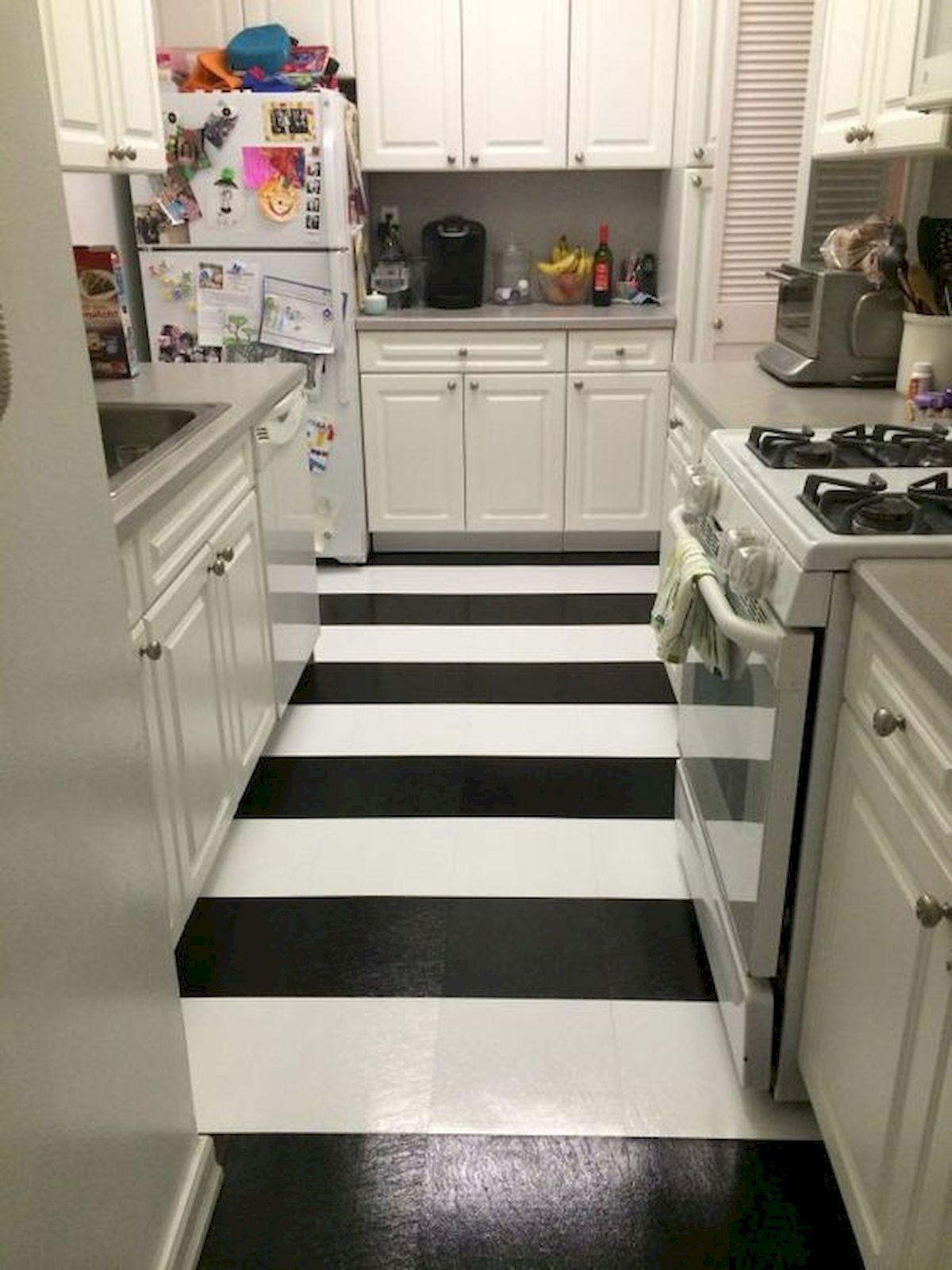 40 Best Tile Flooring Designs Ideas For Modern Kitchen (19)