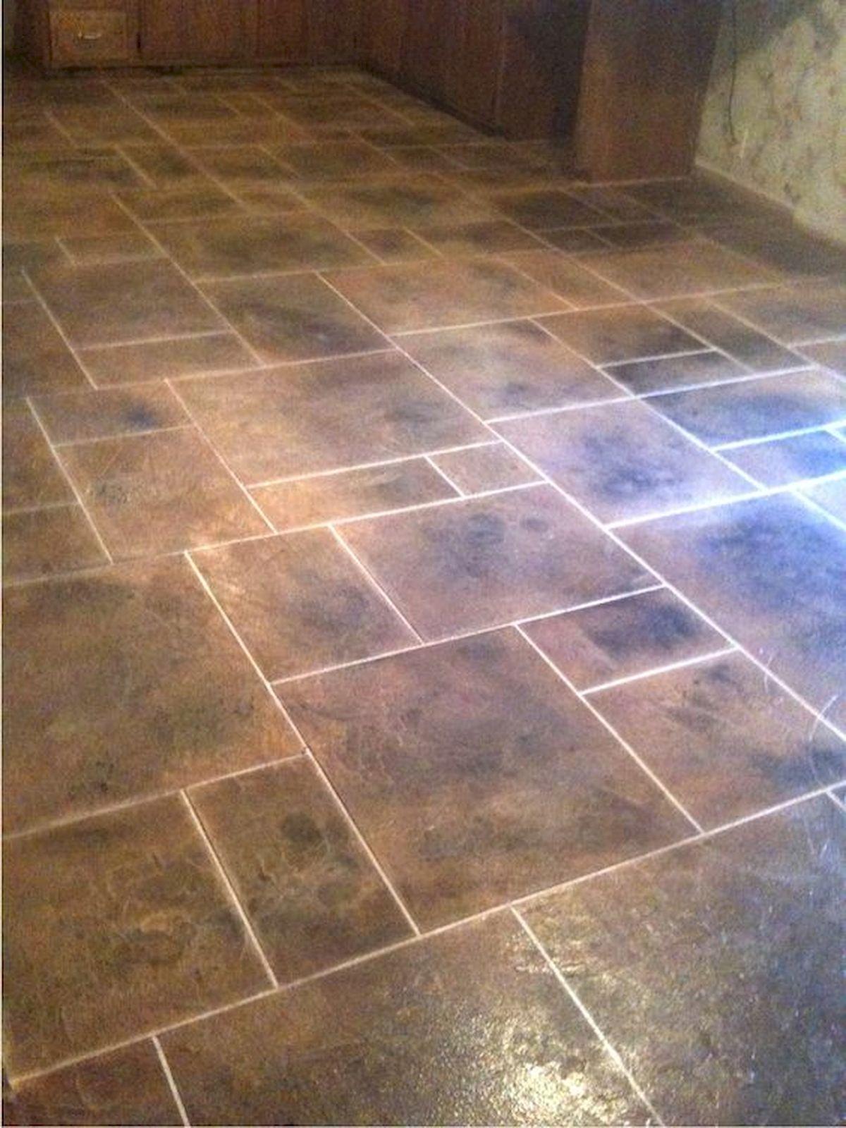 40 Best Tile Flooring Designs Ideas For Modern Kitchen (2)