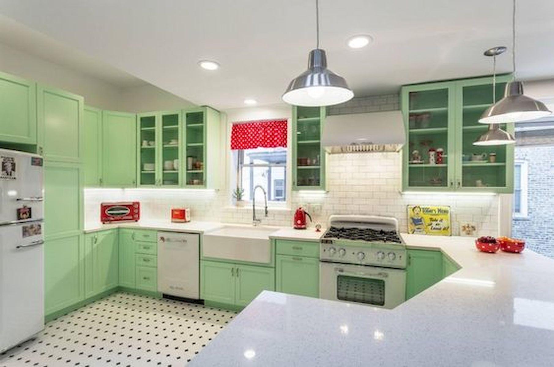 40 Best Tile Flooring Designs Ideas For Modern Kitchen (21)