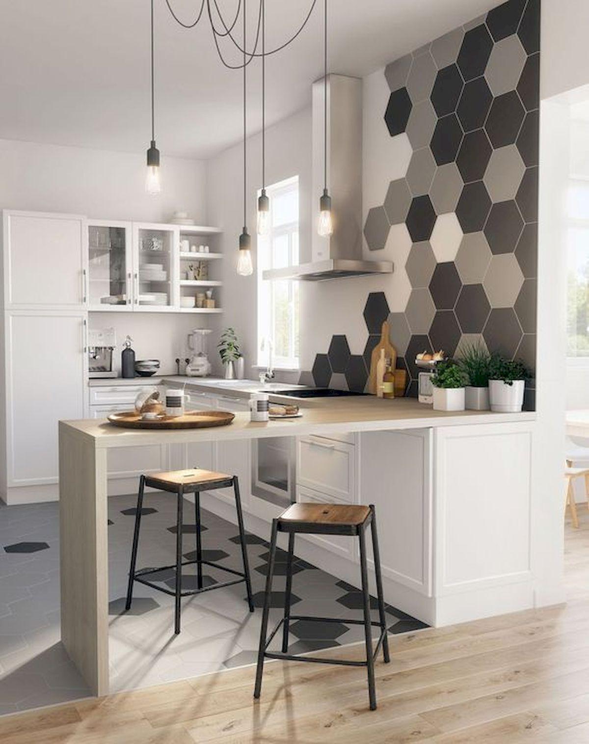 40 Best Tile Flooring Designs Ideas For Modern Kitchen (27)