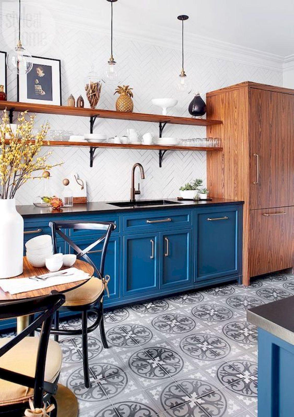 40 Best Tile Flooring Designs Ideas For Modern Kitchen (35)