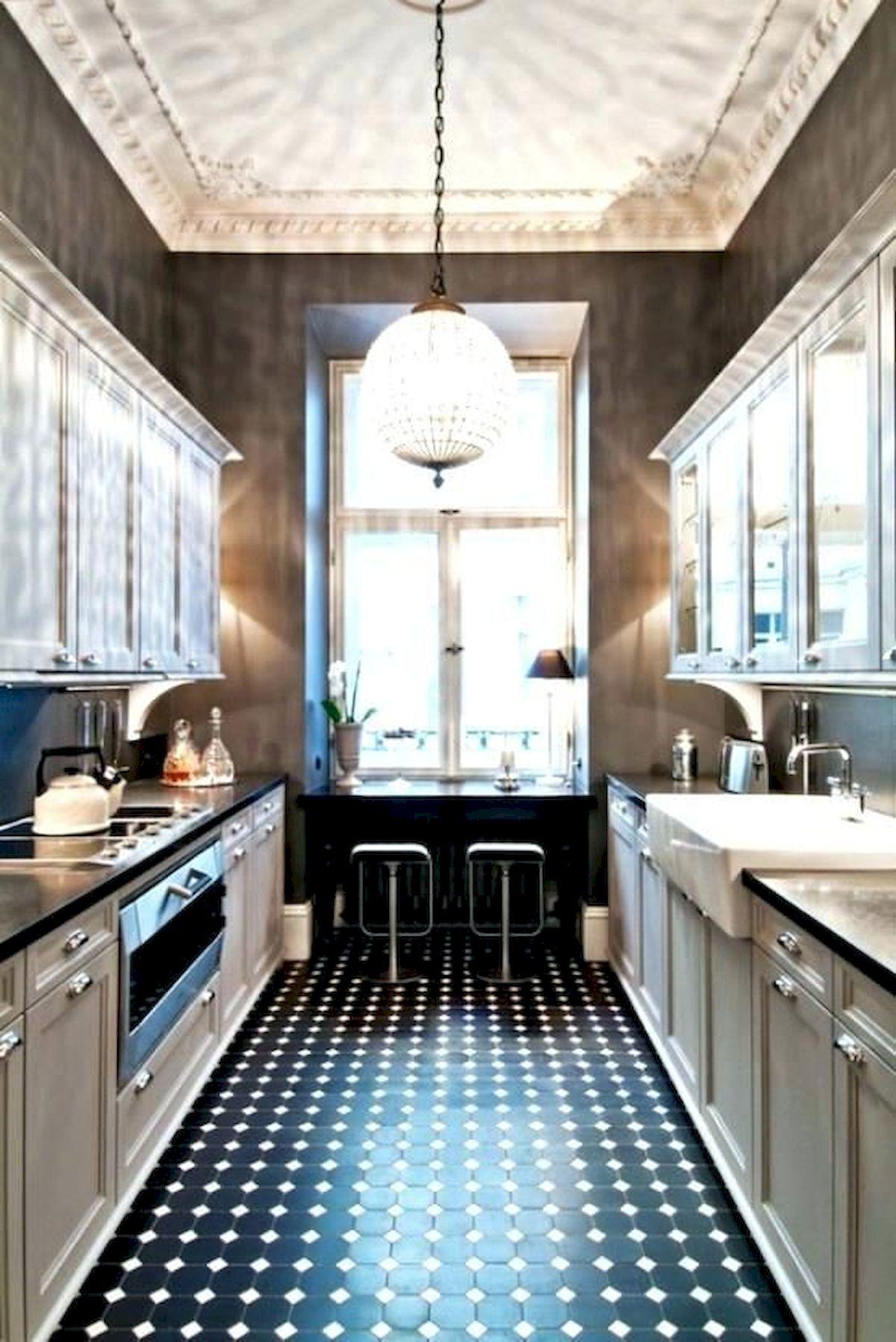 40 Best Tile Flooring Designs Ideas For Modern Kitchen (39)