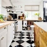 40 Best Tile Flooring Designs Ideas For Modern Kitchen (9)