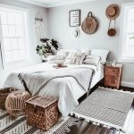 20 Best Boho Farmhouse Bedroom Decor Ideas (1)