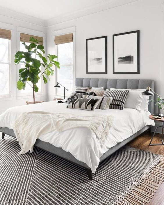 20 Best Boho Farmhouse Bedroom Decor Ideas (15)