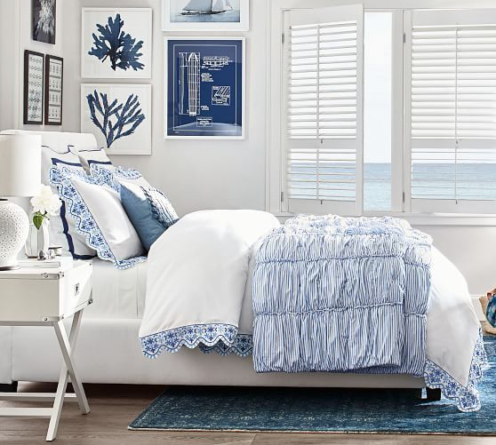 20 Best Coastal Farmhouse Bedroom Decor Ideas (1)