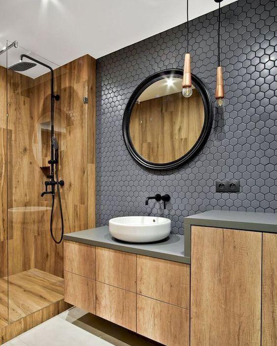 20 Best Farmhouse Bathroom Lighting Decor Ideas (1)