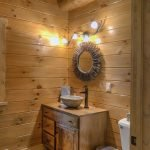 20 Best Farmhouse Bathroom Lighting Decor Ideas (19)