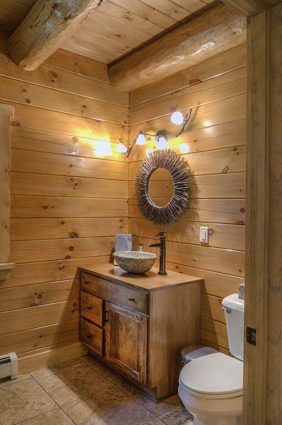 20 Best Farmhouse Bathroom Lighting Decor Ideas (19)