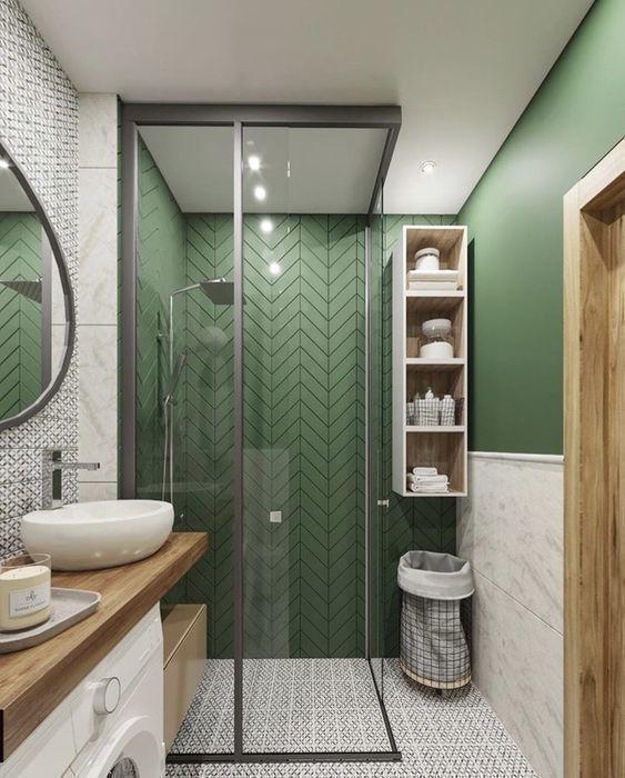 20 Best Farmhouse Bathroom Lighting Decor Ideas (7)