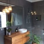 20 Best Farmhouse Bathroom Lighting Decor Ideas (8)